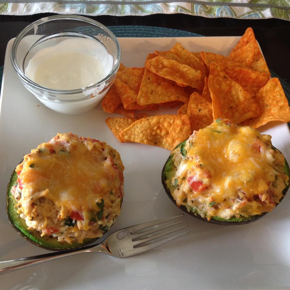 Chicken Stuffed Baked Avocados ViperGirl