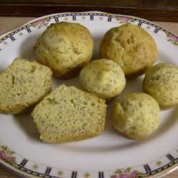 Gluten-Free Lemon-Poppy Seed Muffins