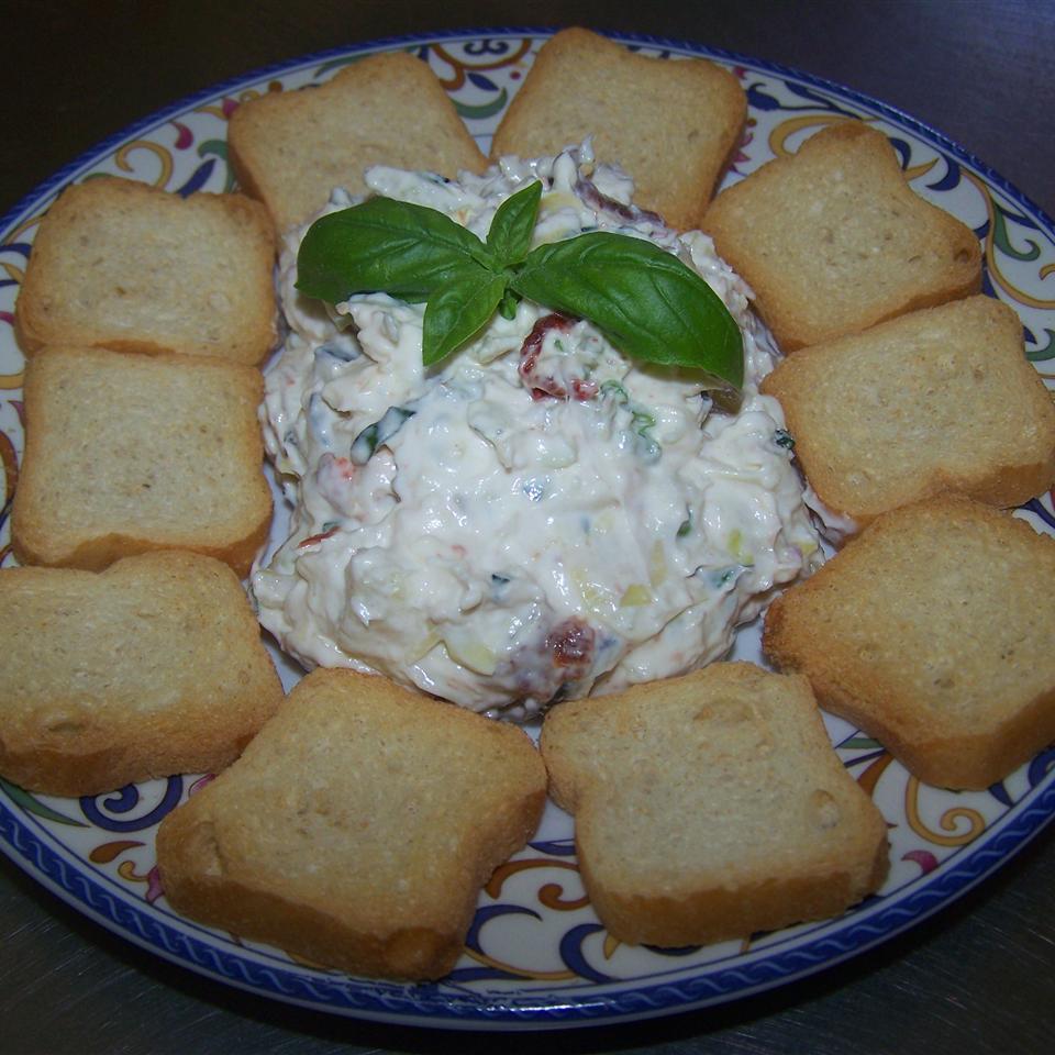 Tuscan Cream Cheese Spread Amy Jo McCord