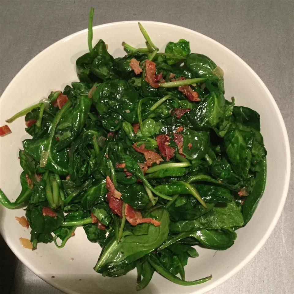 Pan Fried Spinach antollie
