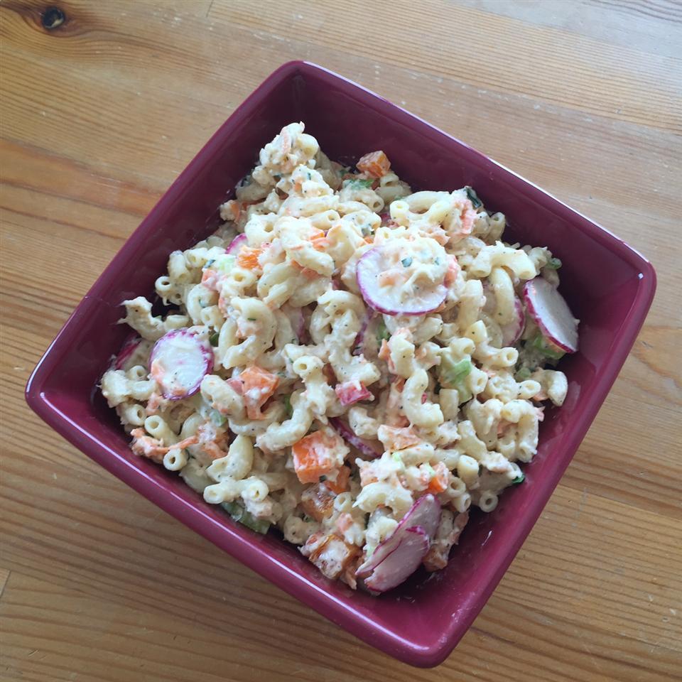 Garden Tuna Pasta Salad