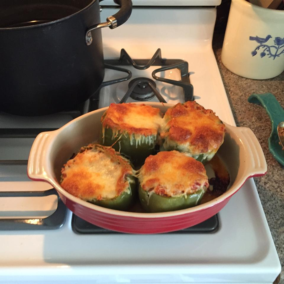 Di's Stuffed Green Peppers JeannieLW