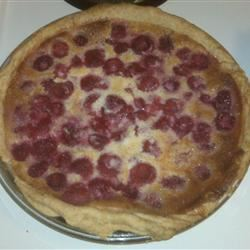 Lemon Blueberry Custard Pie
