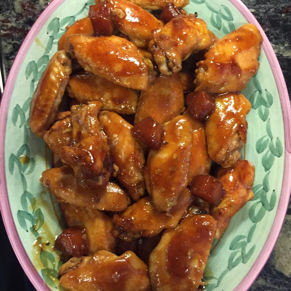 Teriyaki Chicken Wings cassiecooks