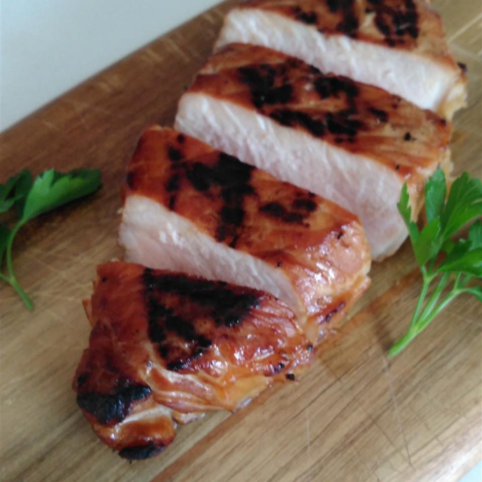 Molasses Brined Pork Chops Bren