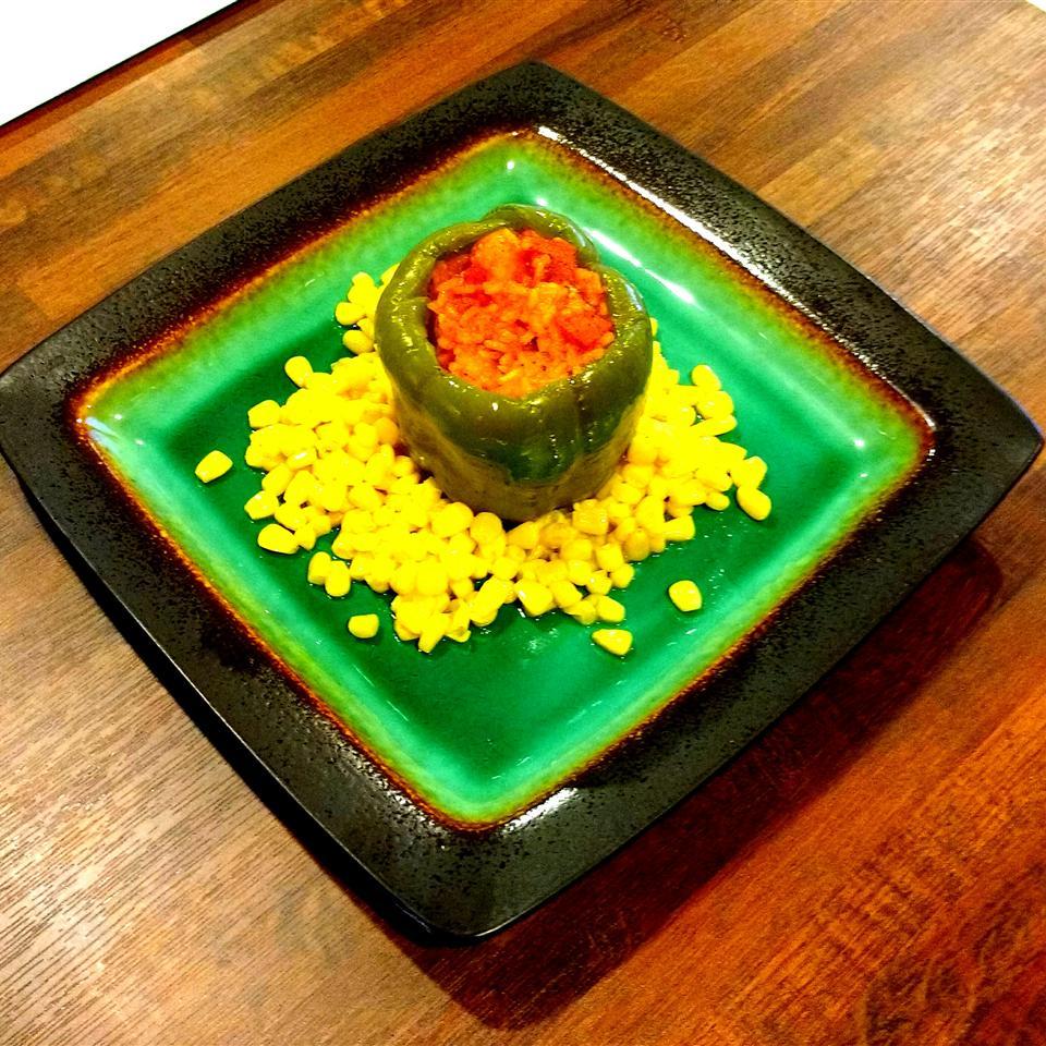 Cajun Style Stuffed Peppers Jolese Nichole George