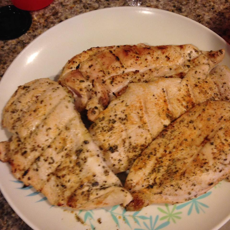 Jenny's Grilled Chicken Breasts Greg Fabre
