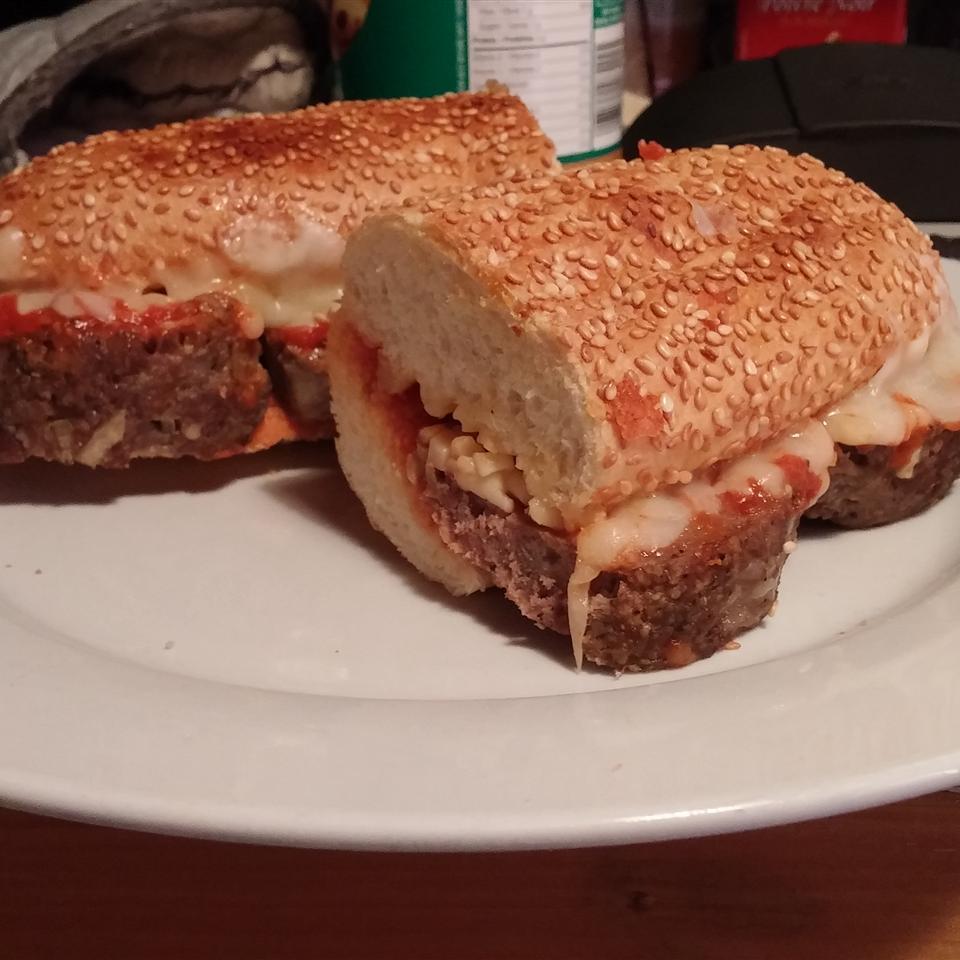 Hearty Meatball Sandwich Andrew Burke