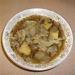 Pork and Cabbage Soup Kytchyn Wytch