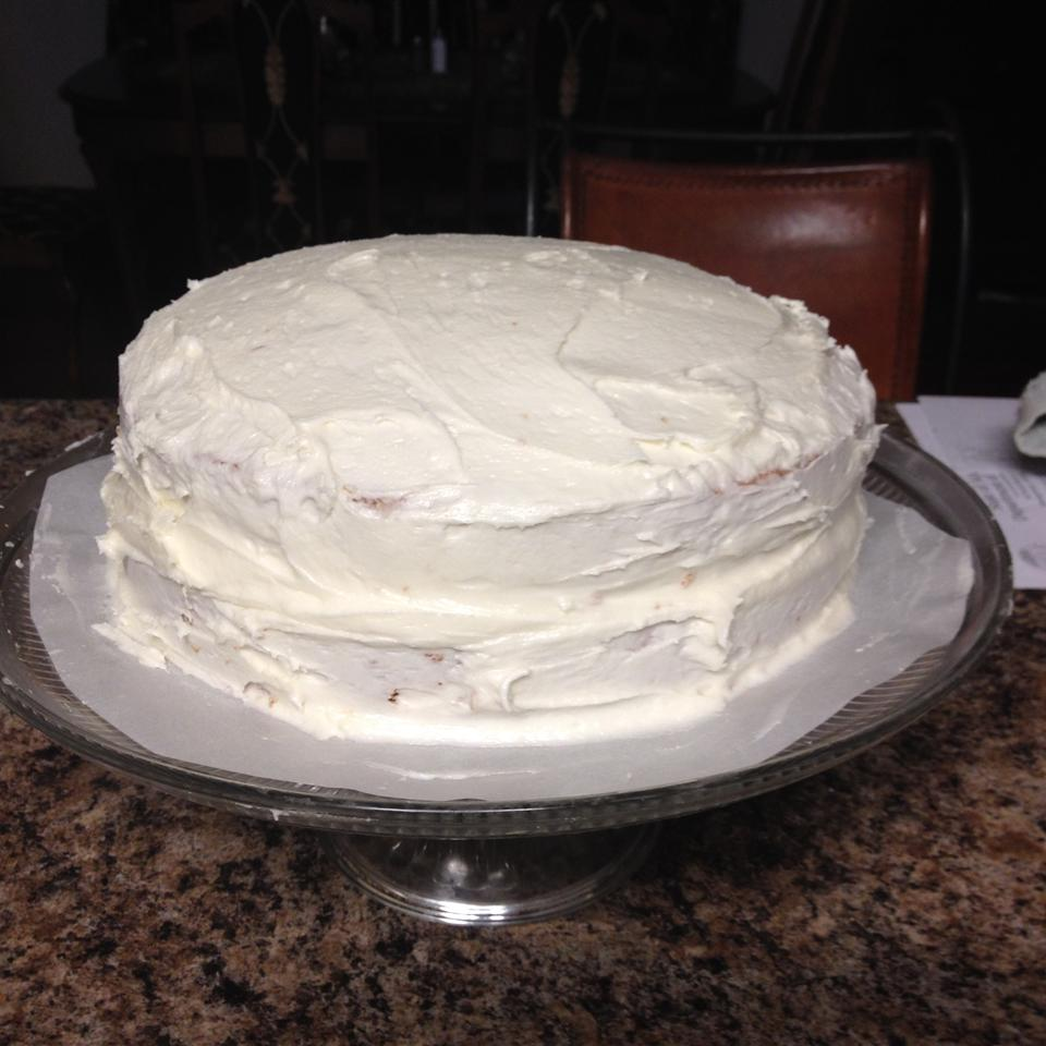 White Chocolate Cream Cake