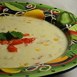 Mexican Chicken Corn Chowder Lemon Pepper