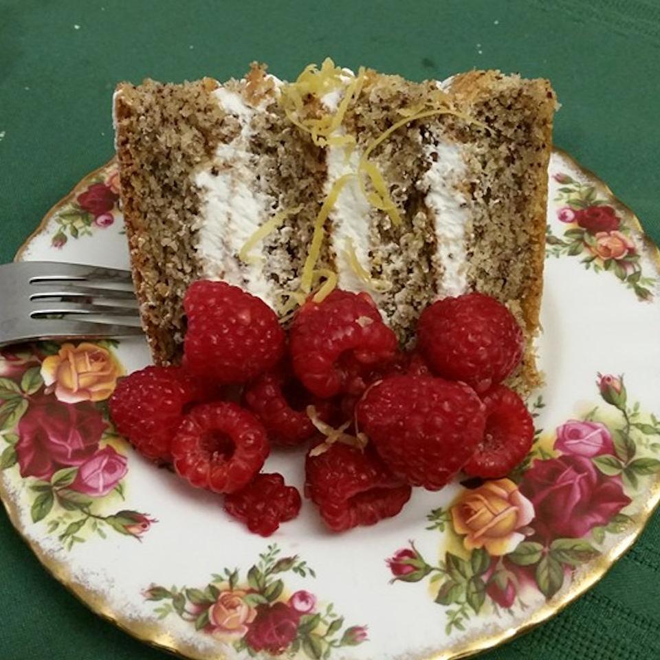 Hungarian Flourless Hazelnut Cake sascott