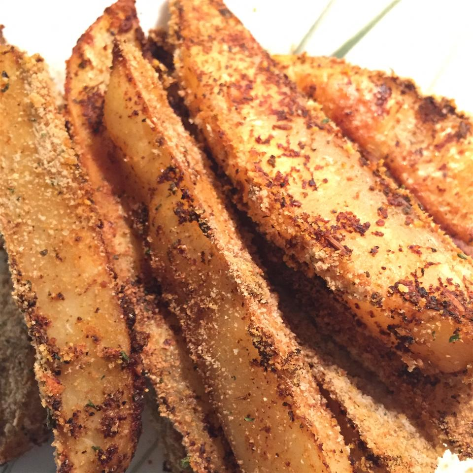 Crispy Potato Wedges Zaynab Elshershaby