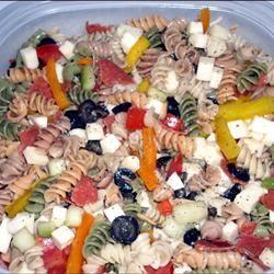 Three Pepper Pasta Salad J.Lynn