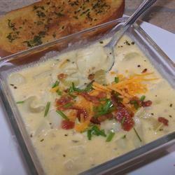 Nikki's Creamy Crock Pot Potato Soup