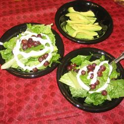Blue Cheese, Avocado, and Grape Salad JARRIE