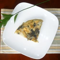 Spinach and Potato Frittata María Lourdes Rausell