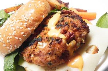 actually delicious buffalo turkey burgers recipe
