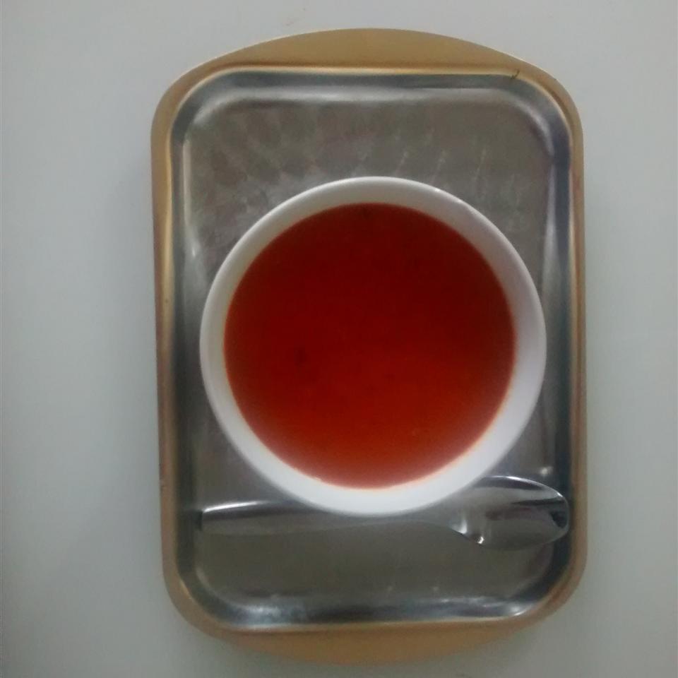 Creamy Tomato Soup (No Cream) Farah Kandil
