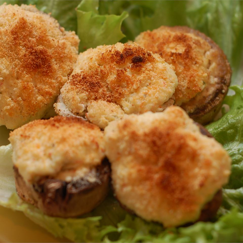 The Best Seafood Stuffed Mushrooms apainter0703