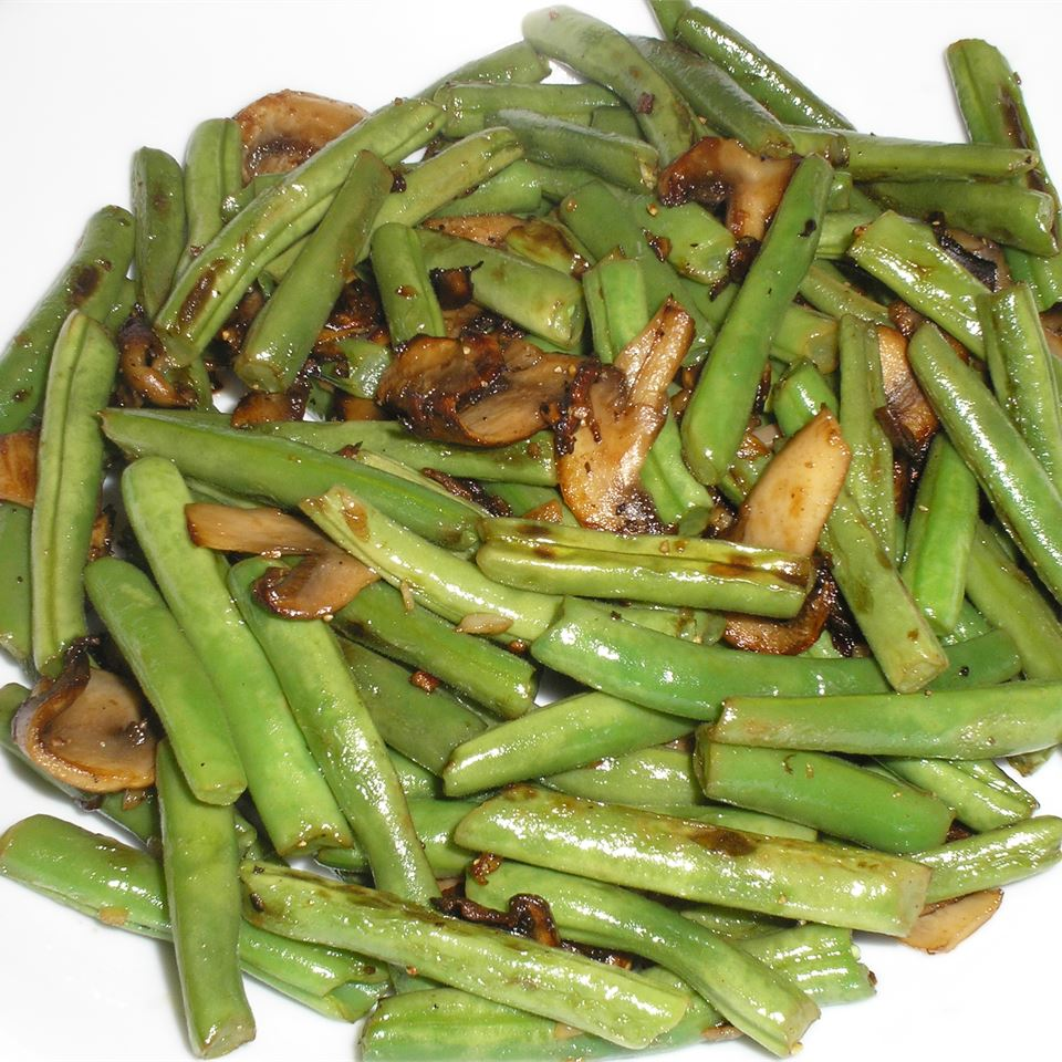 Lemon-Garlic Green Beans