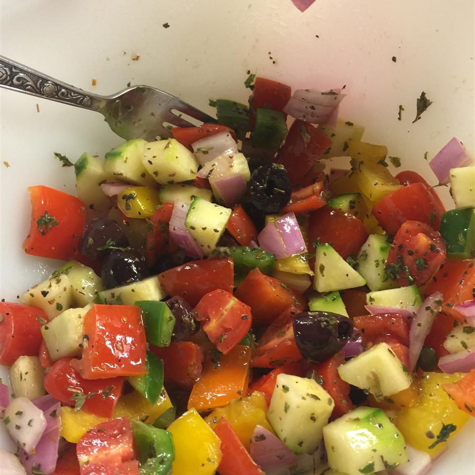 Panzanella Salad (Bread Salad) Kari BO'B