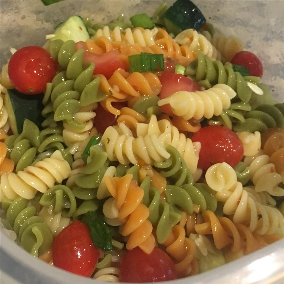 Simple Pasta Salad Katie Crabtree