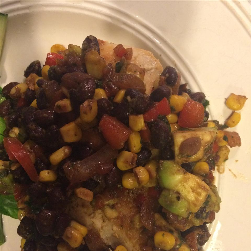 Fiesta Chicken and Black Beans