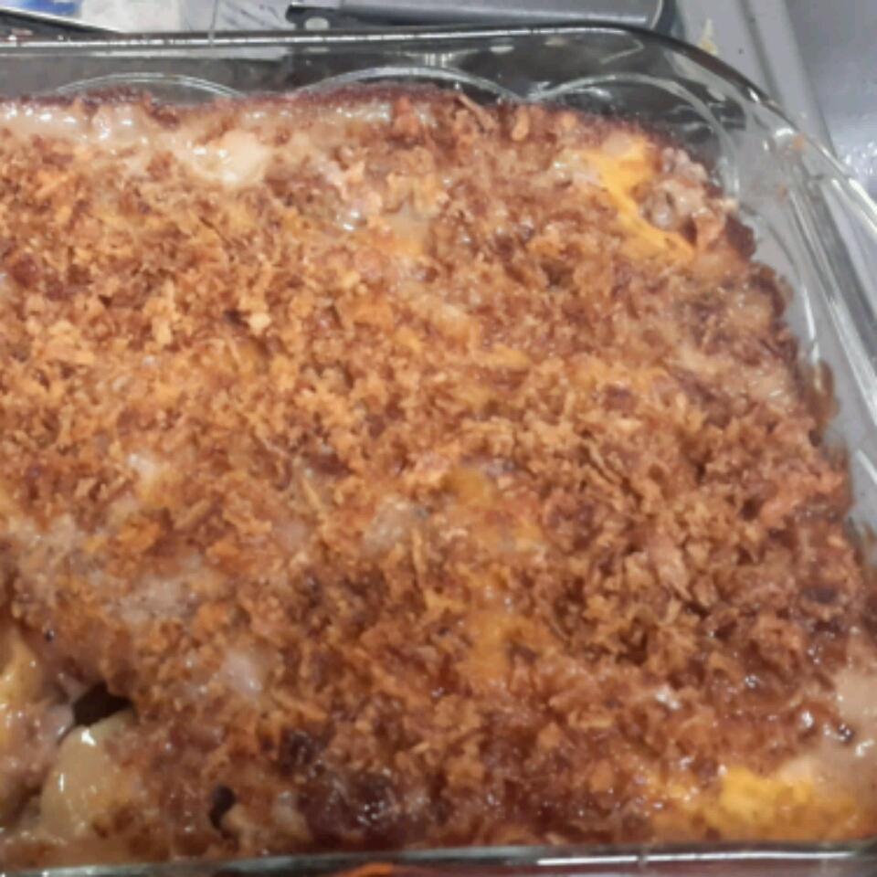 Creamy Hamburger Potato Casserole