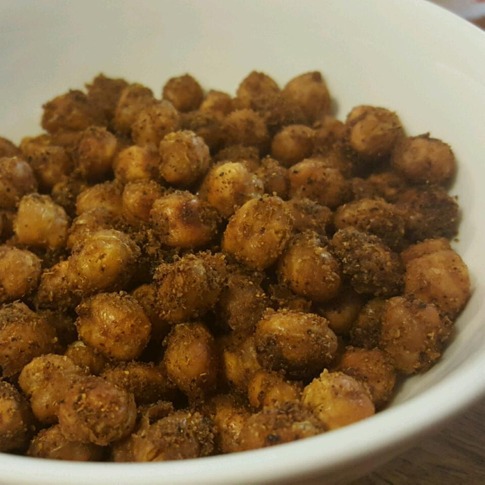 Simple Roasted Chickpea Snack