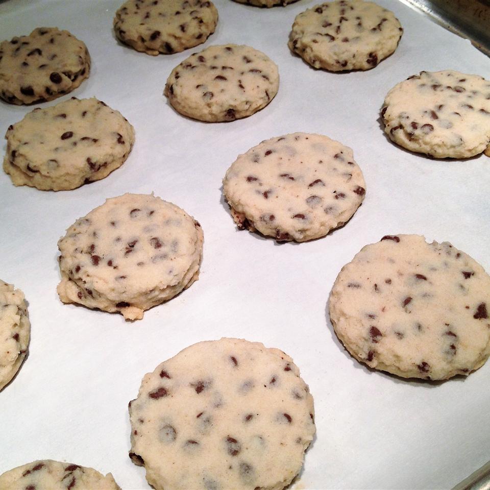Tina's Shortbread Chocolate Chip Cookies Lori