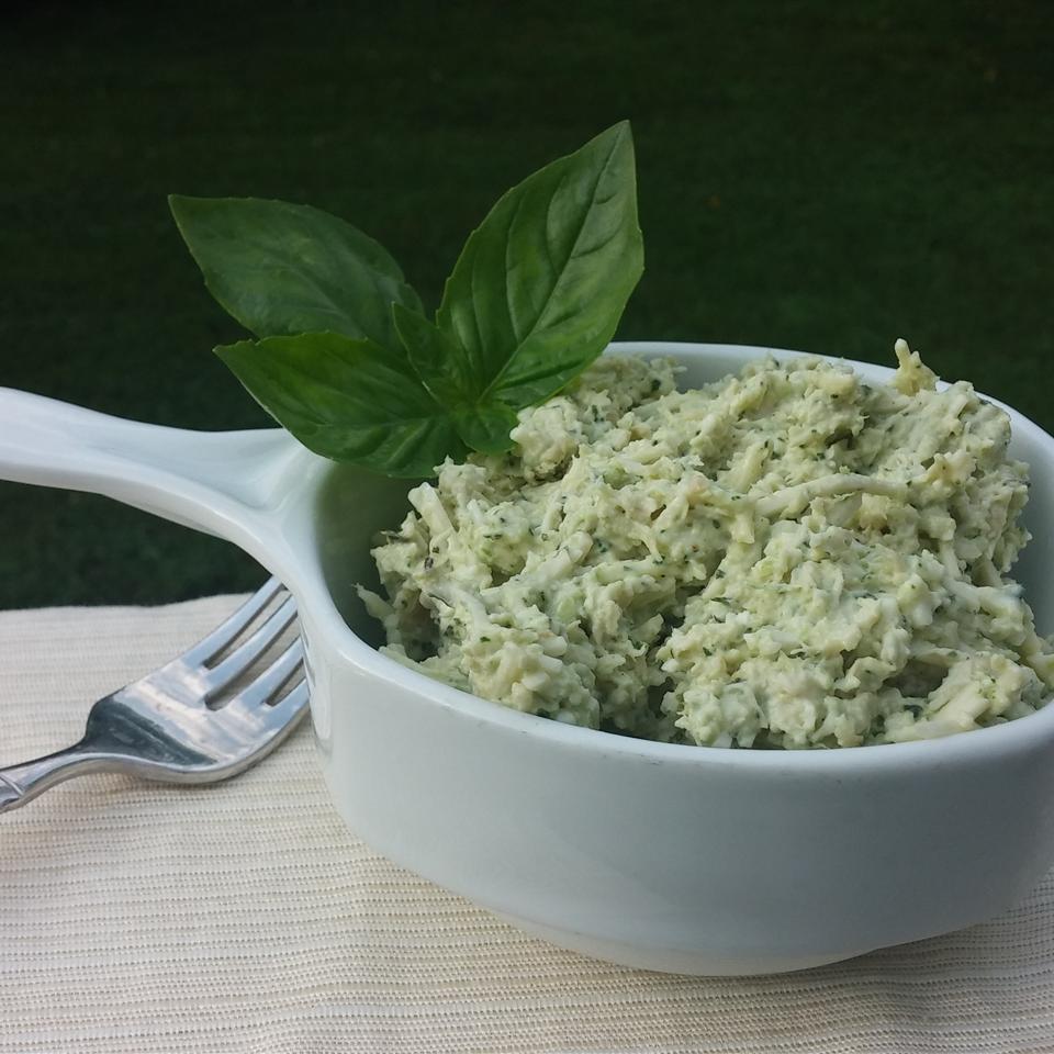 Parmesan and Basil Chicken Salad