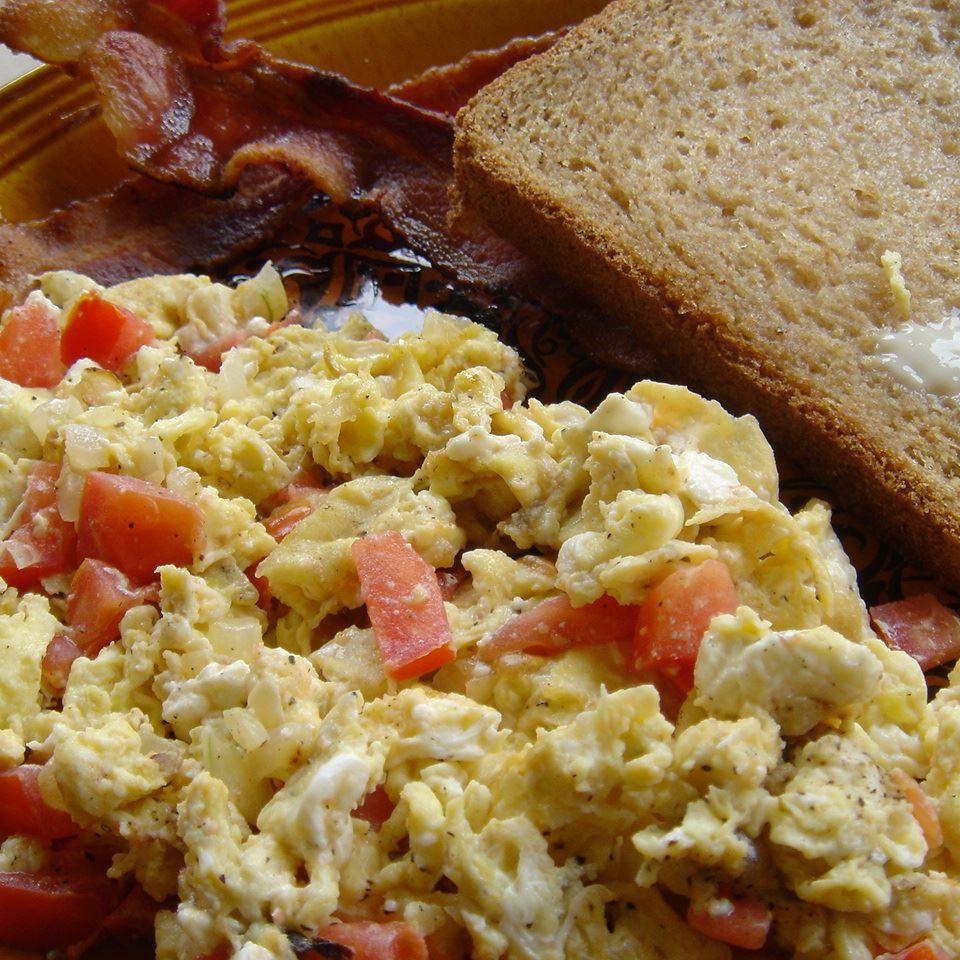 Feta Eggs Jennifer Harris