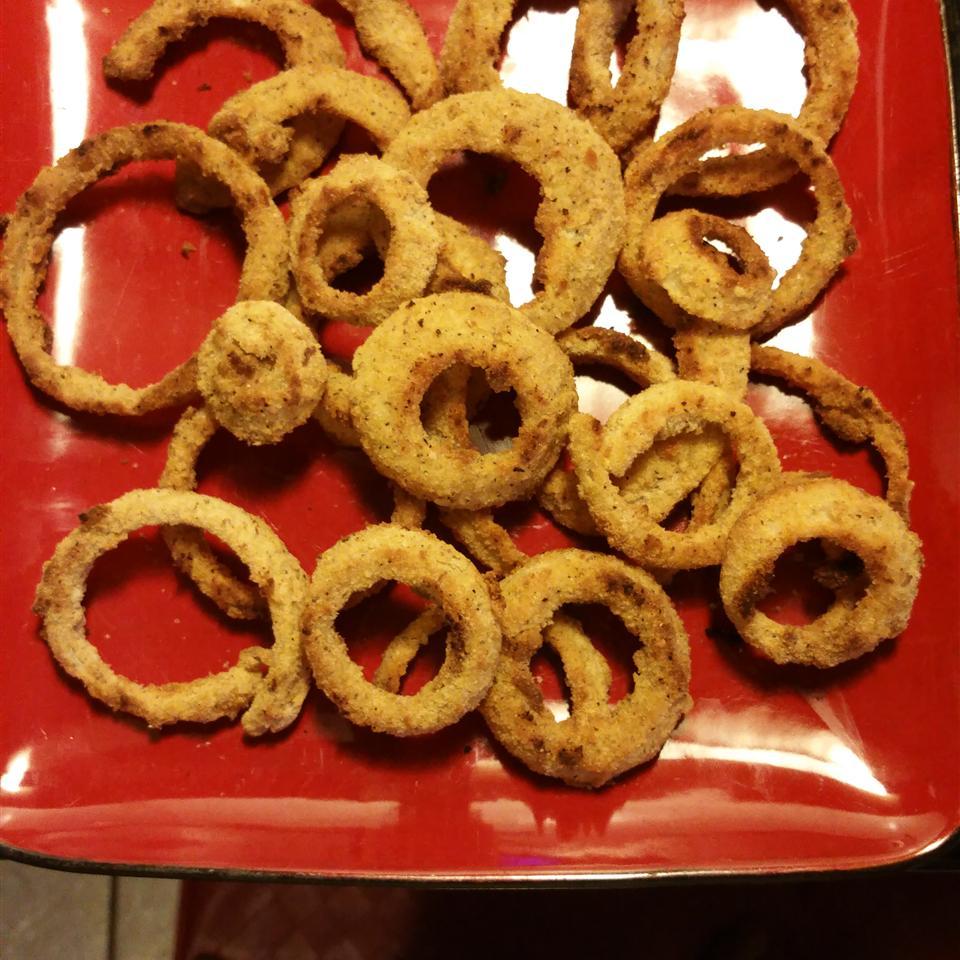 Oven-Baked Onion Rings Lana Bates