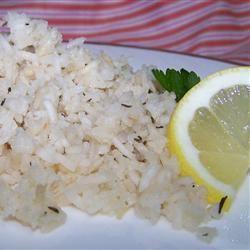 Lemon Thyme Rice