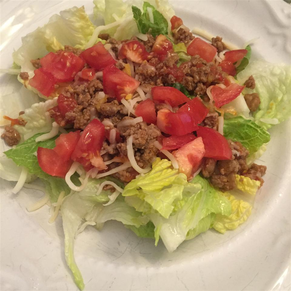 Southwestern-Flavored Ground Beef or Turkey for Tacos & Salad ChelleB16