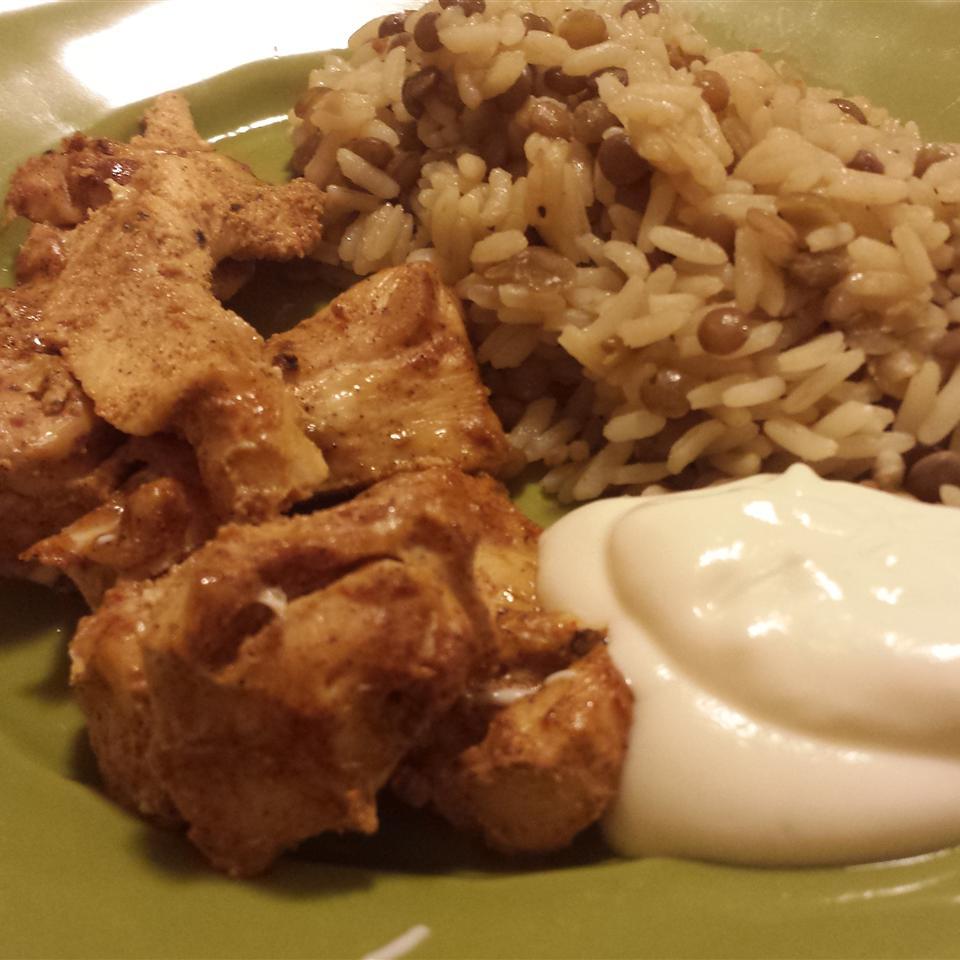 Shish Tawook Marinated Chicken Casablancaise