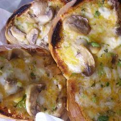Mike's Mushroom Bread Christina