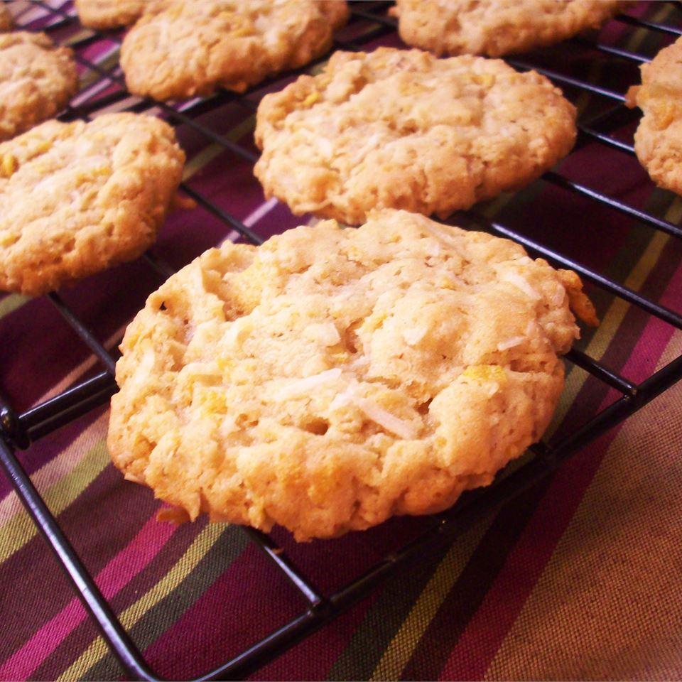 Chewy Crispy Coconut Cookies Melissa J