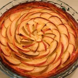 French Apple Tart (Tarte de Pommes a la Normande) Silfish