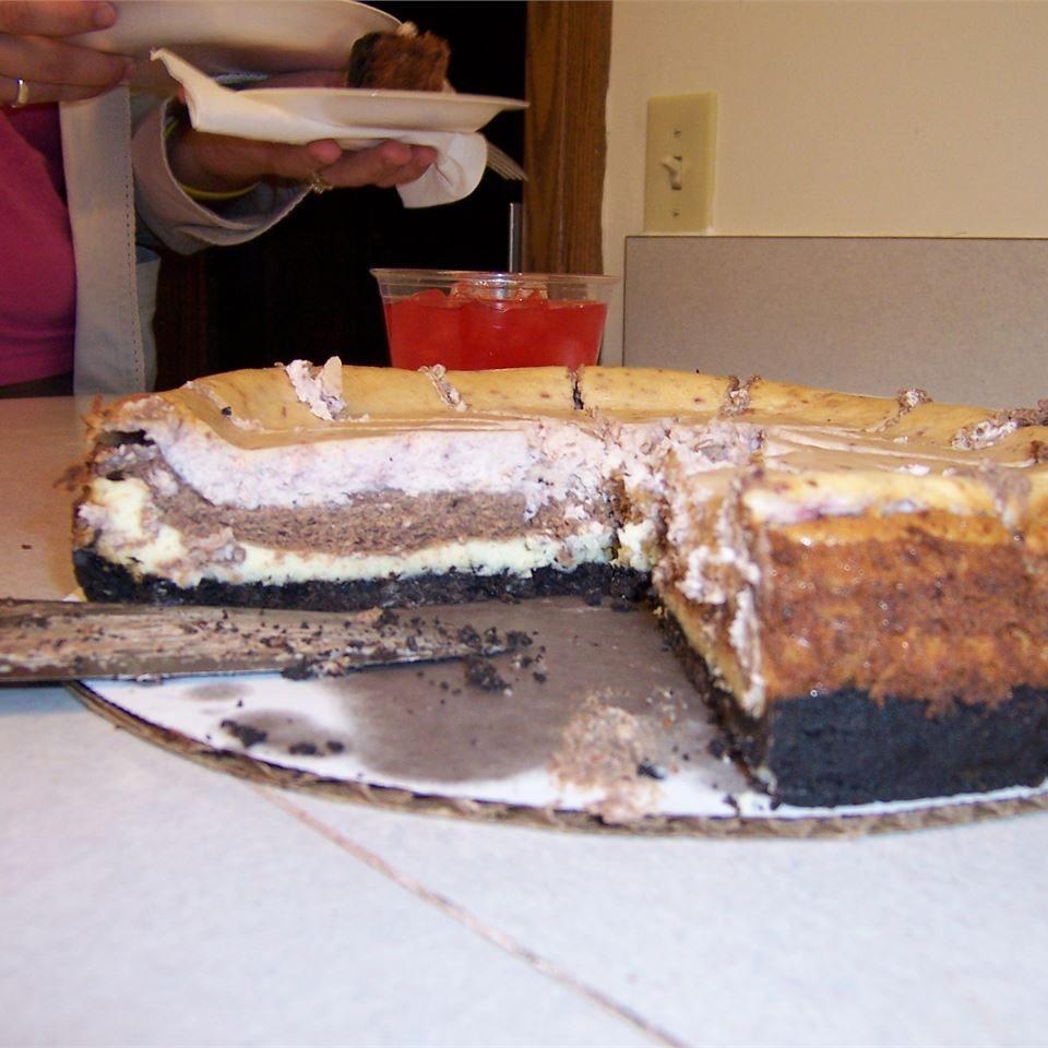 Neapolitan Cheesecake Holly Woods Long