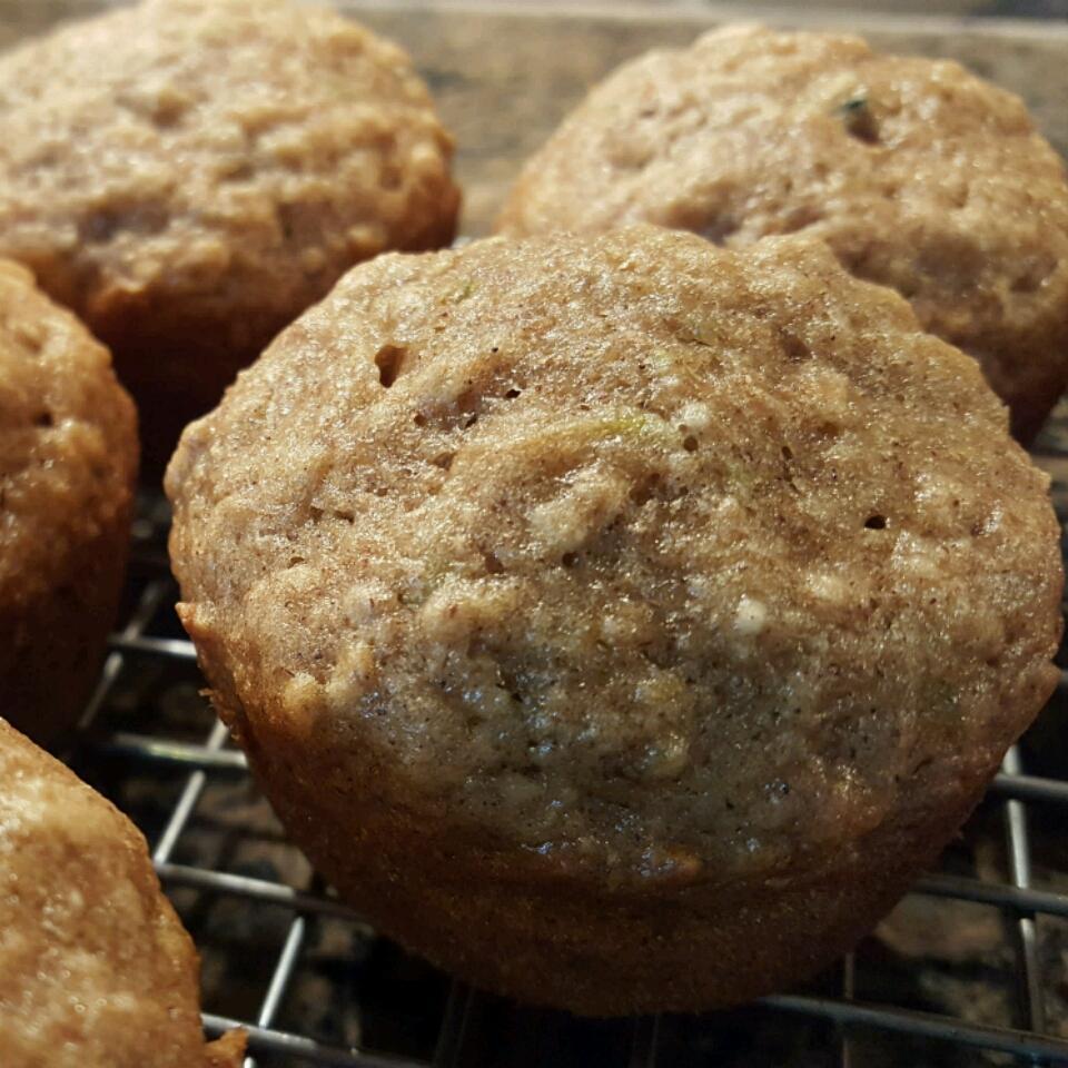 Banana Zucchini Bread Muffins