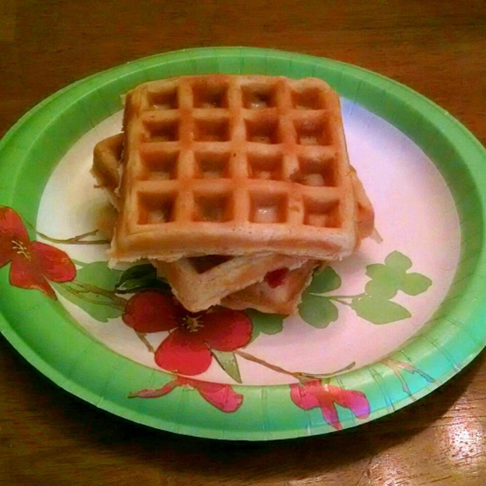 Brown Sugar Bacon Waffles
