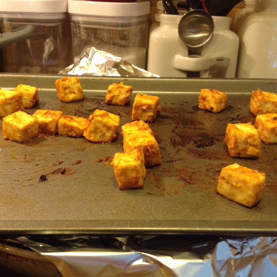 Spicy Baked Marinated Tofu littlelinner81