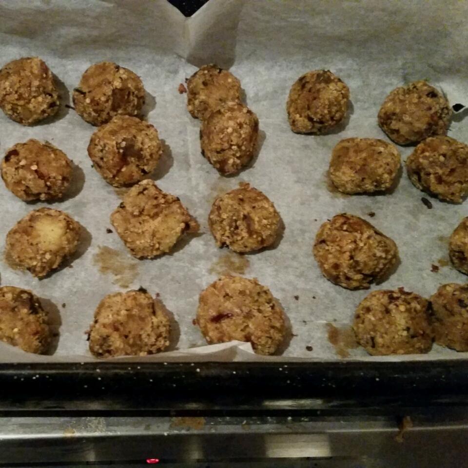 Vegetarian Eggplant Meatballs Lorelye Rapp