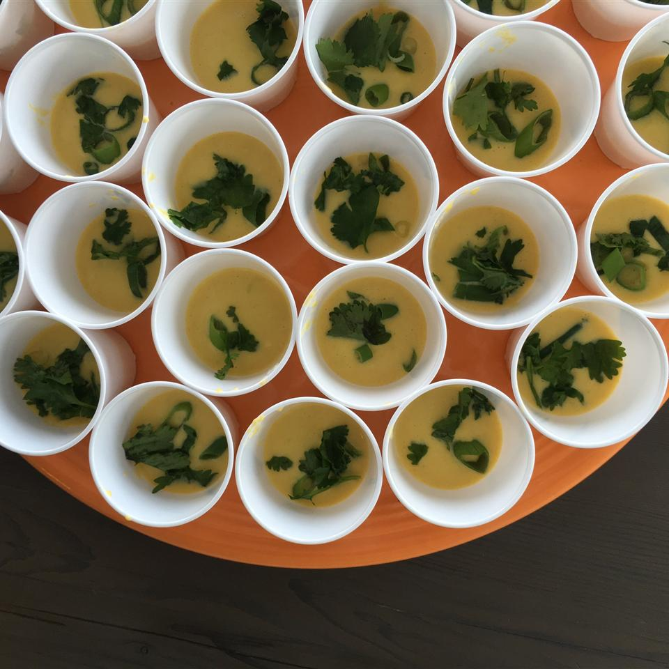 Chilled Corn Soup Alli Shircliff