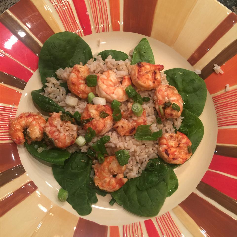 Healthier Marinated Grilled Shrimp QueenBri