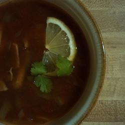 Slow-Cooker Chicken Tortilla Soup