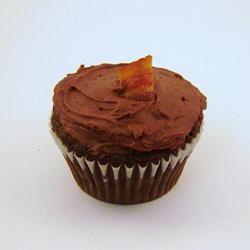 Dark Chocolate Bacon Cupcakes mmemaraschino