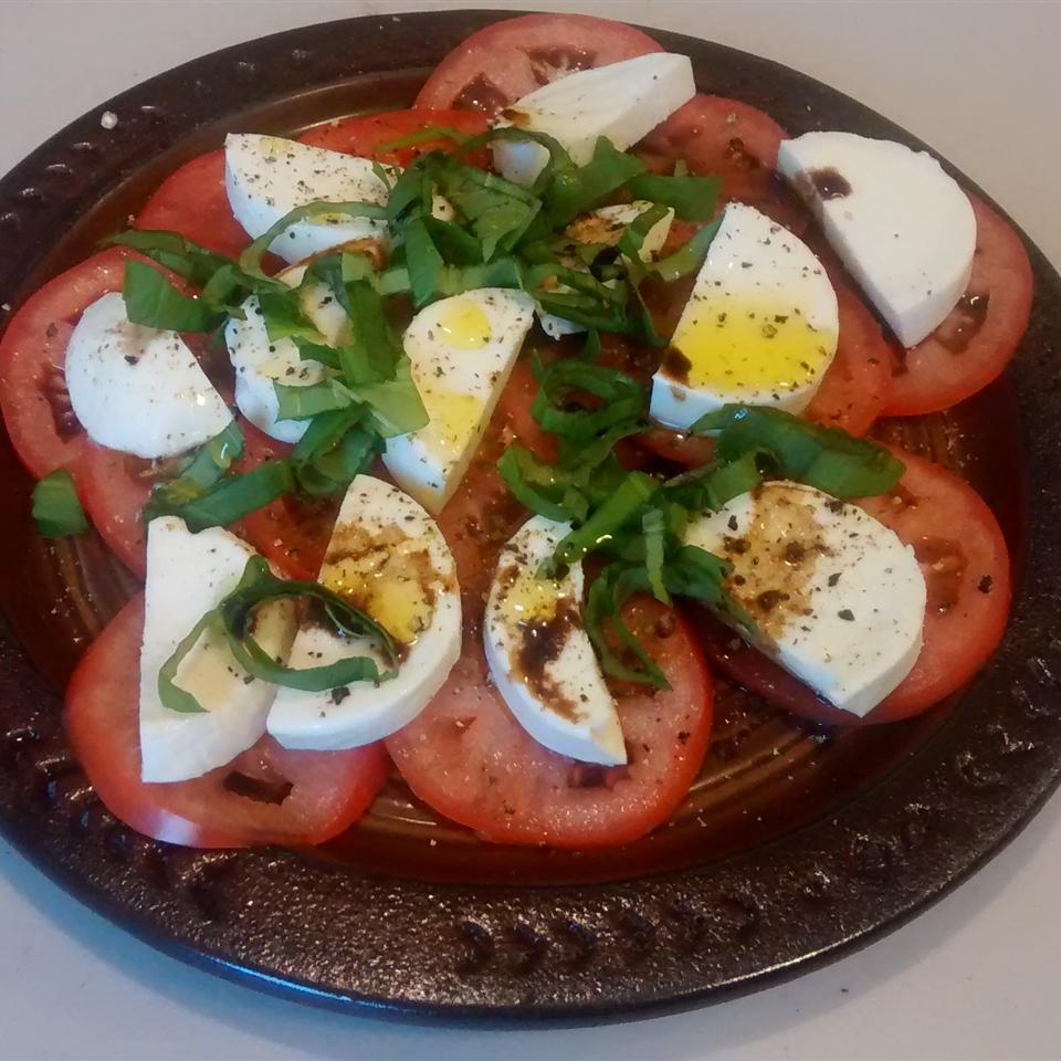 Tami's Tri Color Caprese Salad Lowcarb Cook